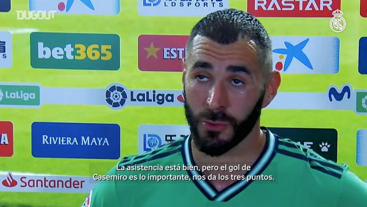 Benzema: 'Para mí, esto es fútbol y me salen cosas así'
