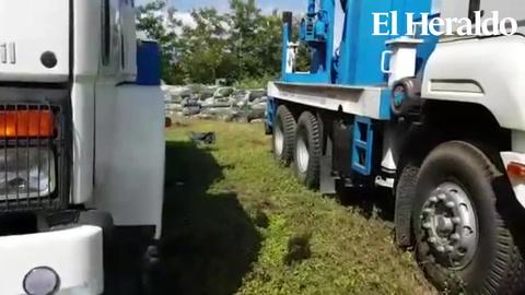Productores denuncian abandono de maquinaria en el Valle de Jamastrán
