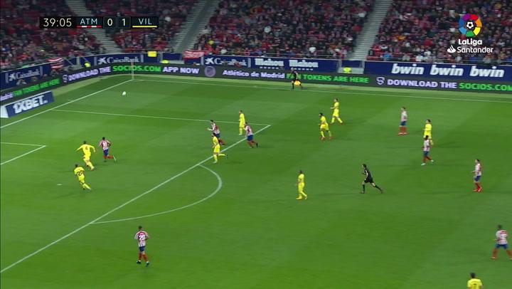 Gol de Correa (1-1) en el Atlético de Madrid 3-1 Villarreal