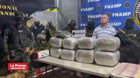 Decomisan droga valorada en más de un millón de lempiras y detienen a tres personas