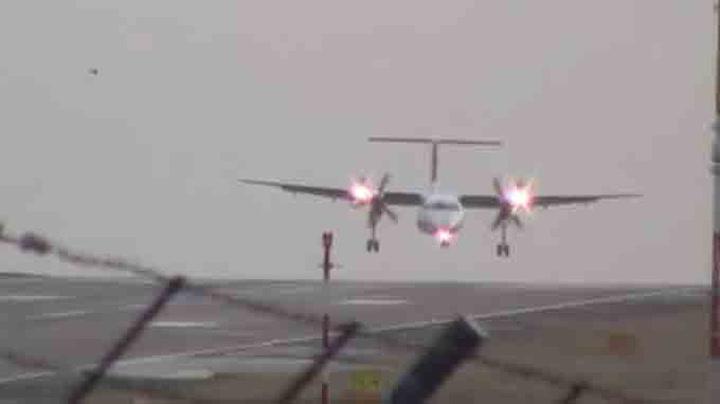 Flyreddes mareritt: Sidelengs inn for landing