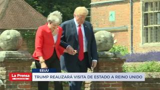 Trump realizará visita de estado a Reino Unido