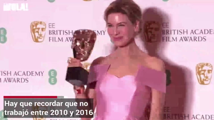 El regreso de Renee Zellweger que le puede ganar un Oscar