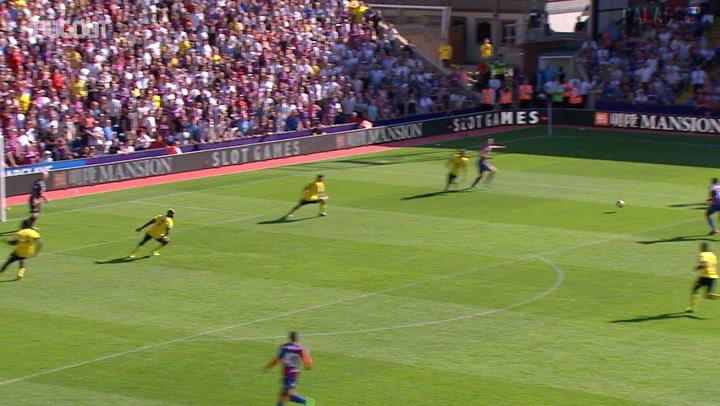 Bakary Sako'nun Crystal Palace'taki İlk Golü