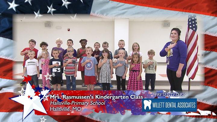 Hallsville Primary School - Mrs. Rasmussen's Kindergarten Class
