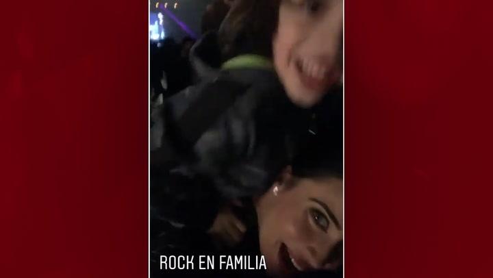 ¡No te lo vas a creer! El alocado baile de los hijos de Pilar Rubio en un concierto de rock