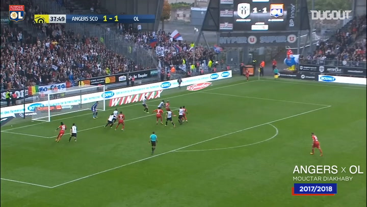 Lyon's top five goals at Angers