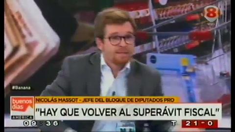 Un blooper de Massot desnudó la verdad política de Cambiemos