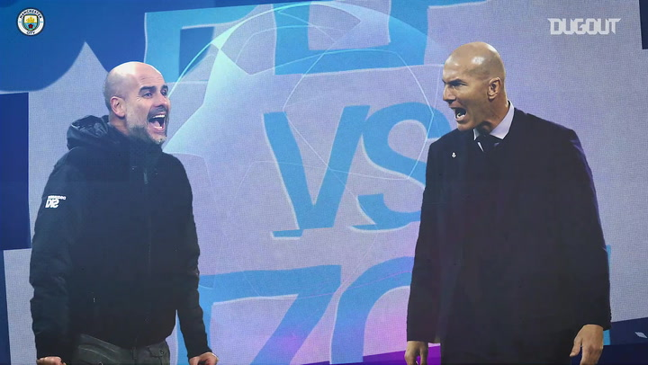 The first Pep Guardiola vs Zinedine Zidane Head-To-Head