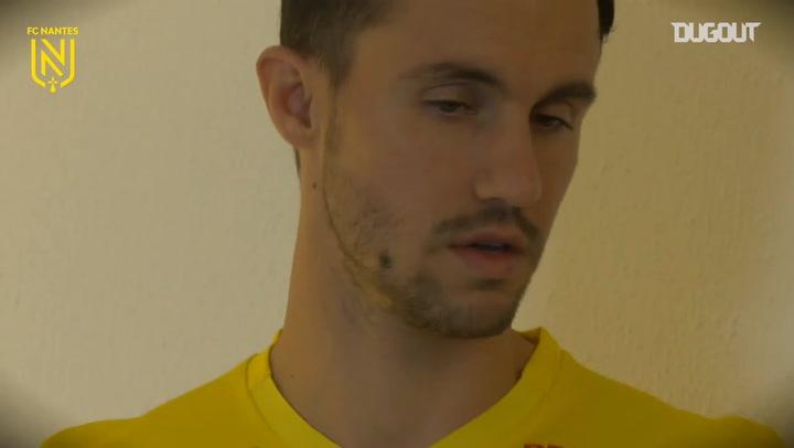Corchia's first moments at Nantes