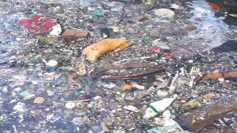Nueva máquina lucha contra isla de basura en Caribe hondureño