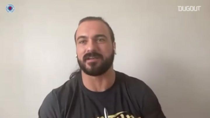 WWE champion Drew McIntyre's love for Rangers