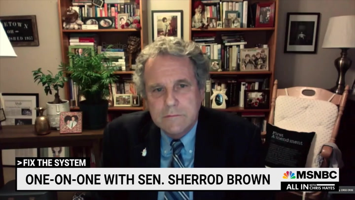 Dem Sen. Brown: 'Employers Ought to Increase Wages' if Unemployment Benefits Are Discouraging Work