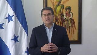 Juan Orlando Hernández: Rechazo que Honduras sea un narcoestado