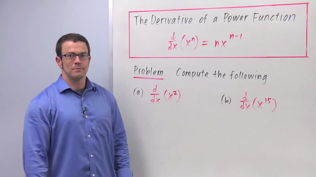 Derivatives of Power Functions - Problem 1