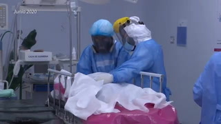 Latinoamérica supera a Europa en cifra de muertos por covid-19, que sigue avanzando