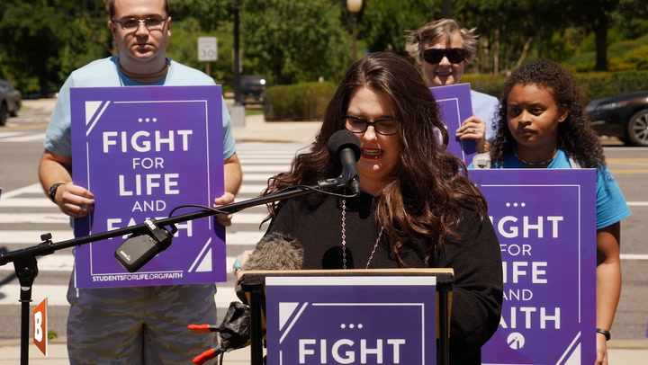 Students for Life President: Pro-Abortion Politicians Like Biden Only