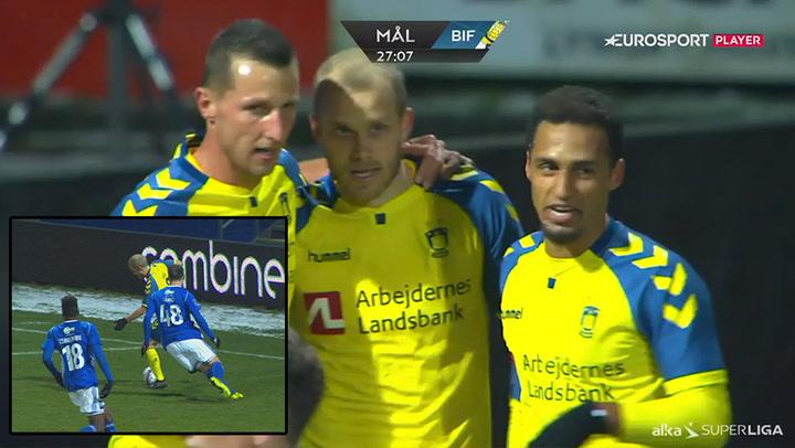 Highlights: Brøndby-dominans på Lyngby Stadion