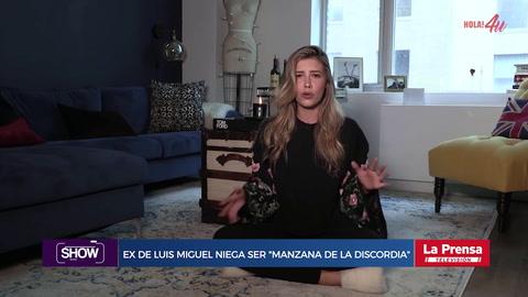 Ex de Luis Miguel niega ser