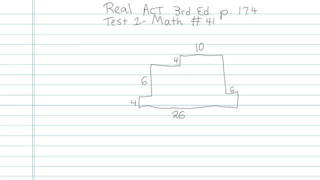 Test 1 - Math - Question 41