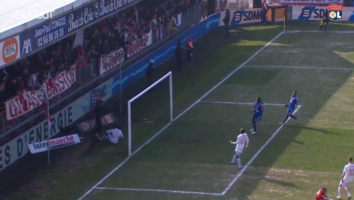 OL's last goals at Brest