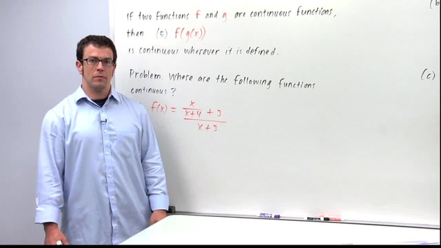 Continuous Functions - Problem 3