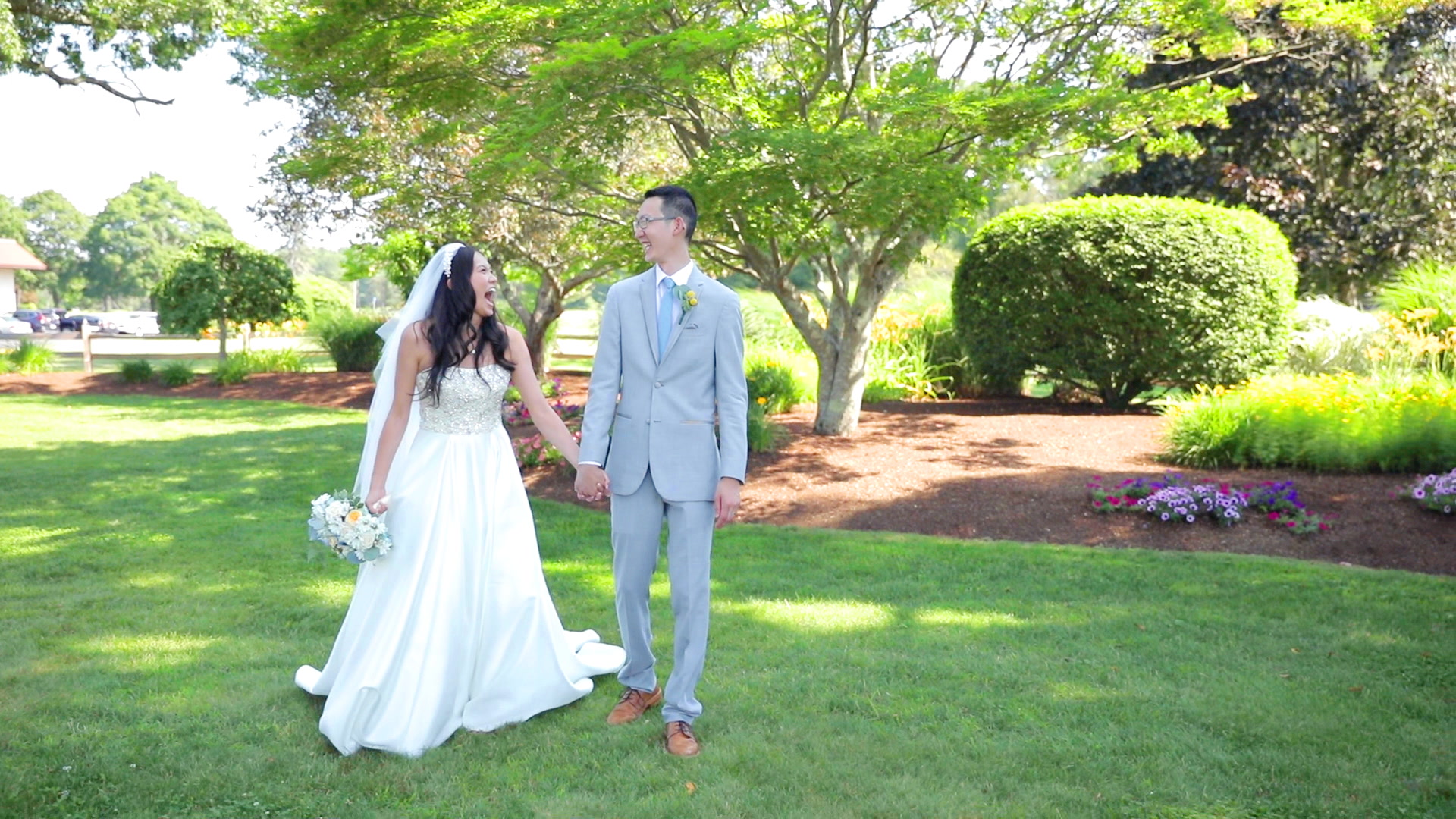 Cherry + Dan | Bridgewater, Massachusetts | The Villa at Riddler Country Club