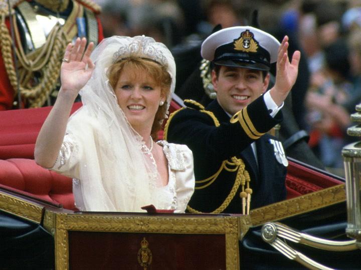 Recuerda la boda del príncipe Andrés y Sarah Ferguson