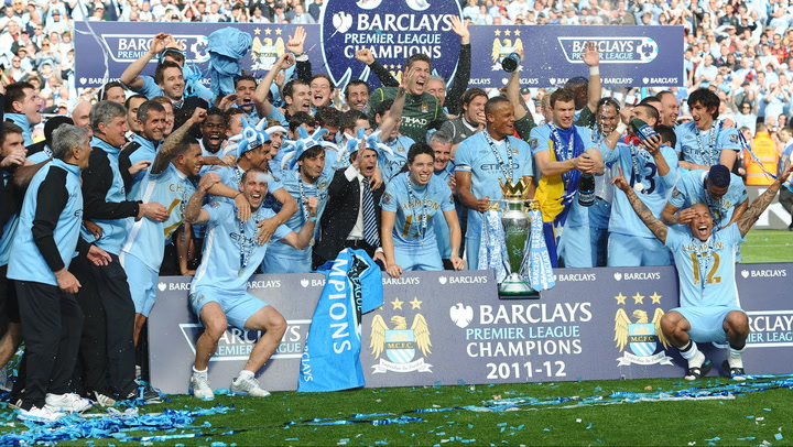 Manchester City won 2011-12 EPL title on this day in sports history -  Sports Illustrated