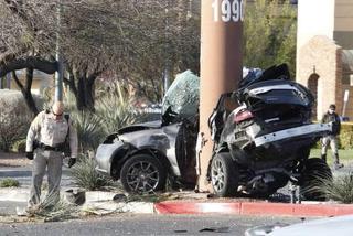 Las Vegas woman killed in car crash was pregnant