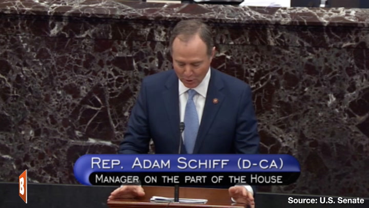 Adam Schiff Fakes Ukraine Call Transcript -- Again -- In Senate Impeachment Trial