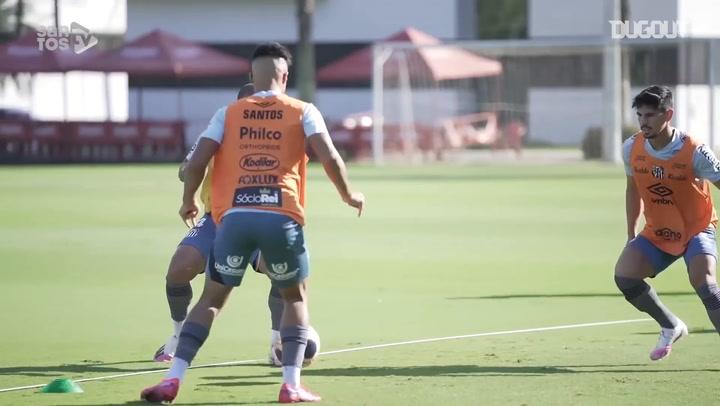 Lucas Veríssimo on Santos' clash against Ponte Preta