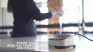 Power Zone Wireless Charging Speaker