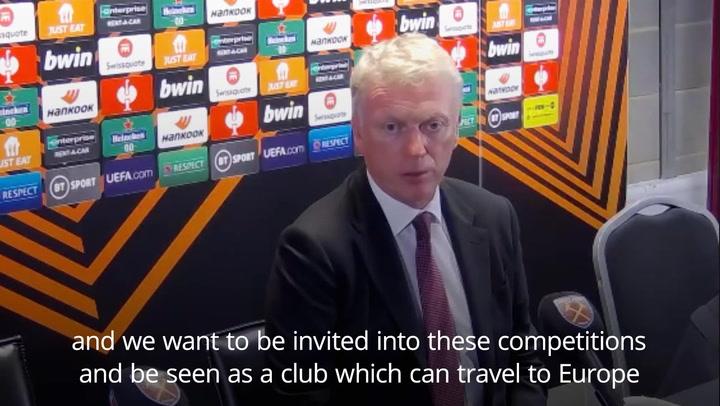 West Ham's David Moyes praises Declan Rice after win against Rapid Vienna