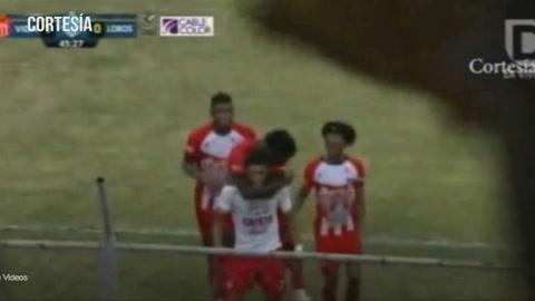 Vida le gana 1-0 a Lobos UPNFM en el estadio Ceibeño