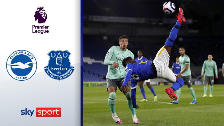 5. Spiel ohne Sieg für Ancelotti | Highlights: Brighton & Hove Albion - Everton 0:0