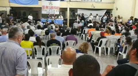 Desde la red de clubes de Rosario afirman que la situación que atraviesan es crítica