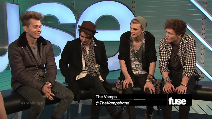 Shows: Trending 10: The Vamps Interview (11/18/14)