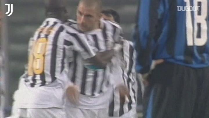 Del Piero, Di Vaio, Dybala... Gols da Juventus sobre a Inter na Copa Itália