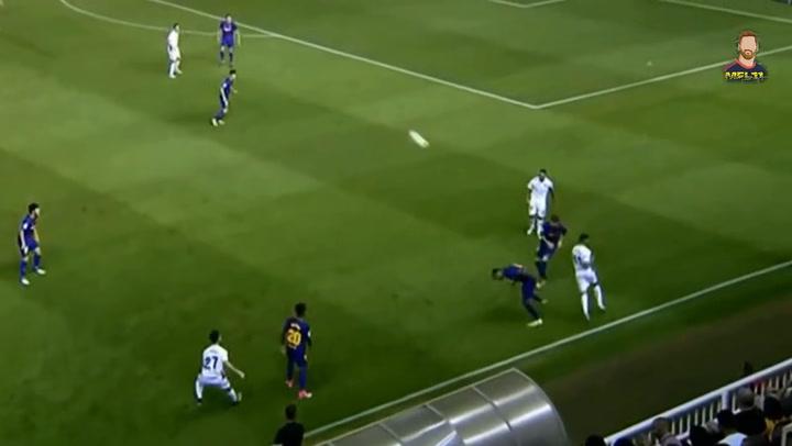 Así juega Juan Miranda, canterano del Barça