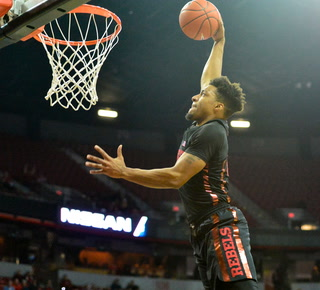Nick Blair Leads UNLV to a Sweep Over New Mexico, 74-58 – VIDEO