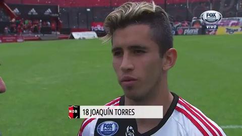El equipo y la gente necesitaba una victoria, destacó Joaquín Torres tras el triunfo