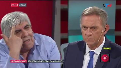 Moyano: El presidente Macri no puede hablar de mafias