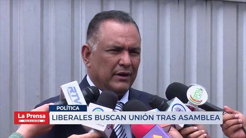 Liberales buscan unión tras asamblea