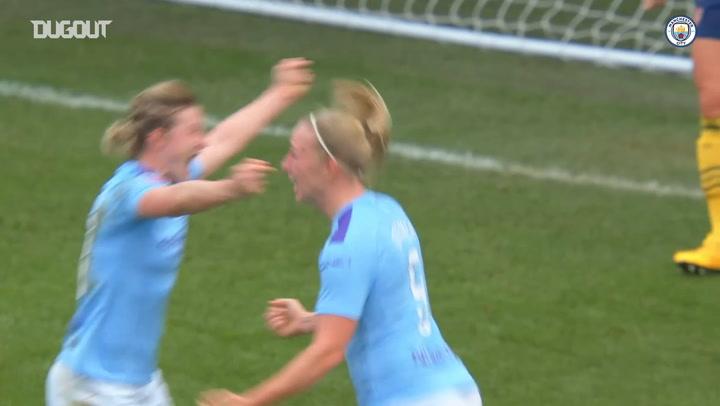 Manchester City Women triumph over Arsenal Women