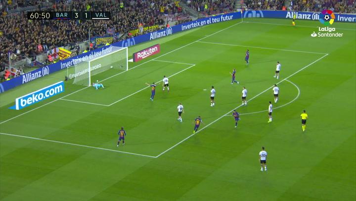 Luis Suárez marcó en el primer balón que tocó... y en 20 minutos hizo un doblete