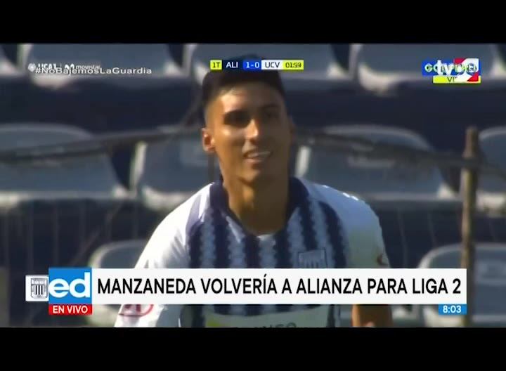 José Manzaneda sería nuevo refuerzo de Alianza Lima para Liga 2