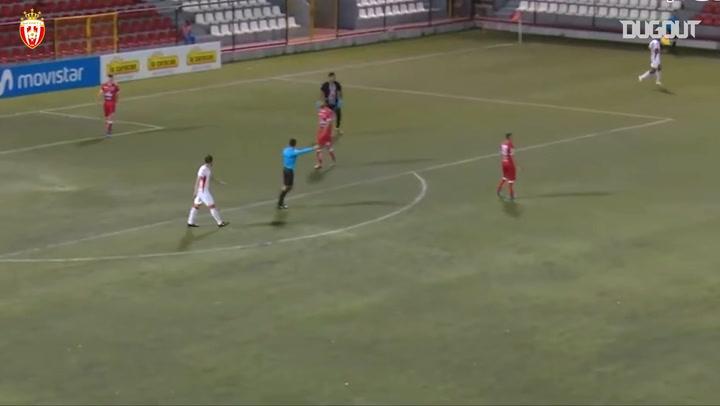 El gran gol de vaselina de Marco Granados con el Real Estelí