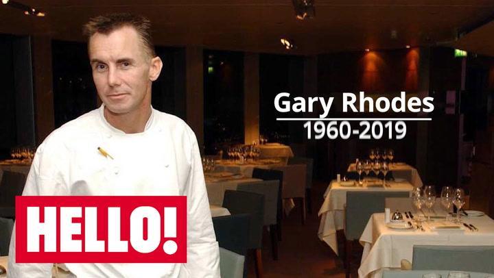 Gary Rhodes: TV chef dies aged 59