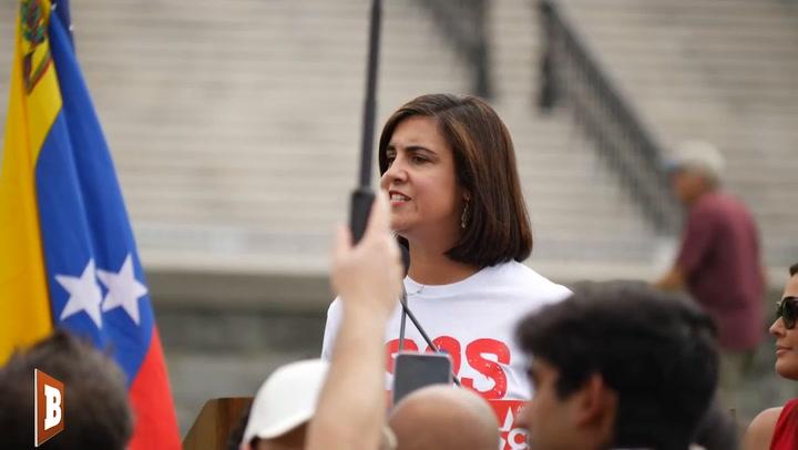 GOP Rep., Daughter of Cuban Refugee Asks Biden: Are You with Dictators?